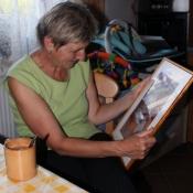 babičce jsme dali obrázek