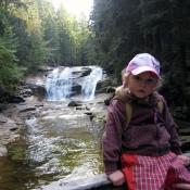 Milča u vodopádu