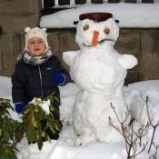 dva sněhuláci