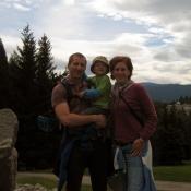 Na společné s rodiči v Lázních Jeseník