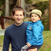 S tatínkem u bobové dráhy