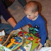 Lego s mašinkou