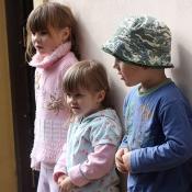 pěvěcké trio - já, Kristýnka a Lilča