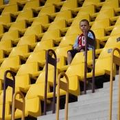 na tribuně