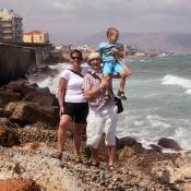 S rodiči u útesů