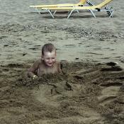 V tom písku bylo krásné teplíčko