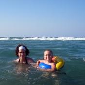 S mamkou na vlnách