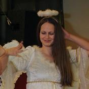 představení čerta s andělem