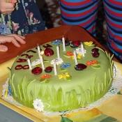 Milči narozeninový dort