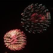 Novoroční ohňostroje I.