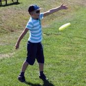 Frisbee mě hodně baví
