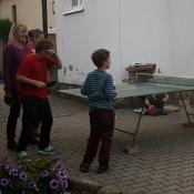 Jedna z hlavních zábav byl ping-pong.