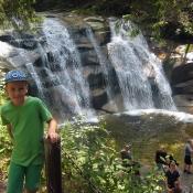 U Mumlavských vodopádů