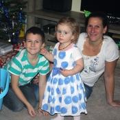 U stromečku s mamkou a Johankou