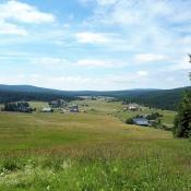 Pohled na osadu Jizerka